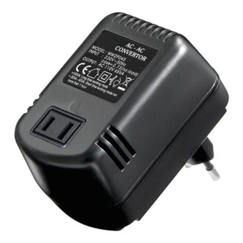 Spannungswandler Adapter 230V auf 110V 45W AC/AC für Universalzubehör Universalzubehör