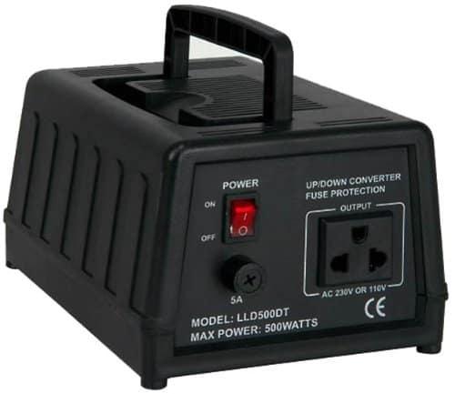 00 Watt Spannungswandler, 230/220V auf 110/120V